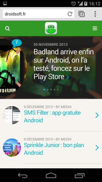 droidsoft site mobile v3