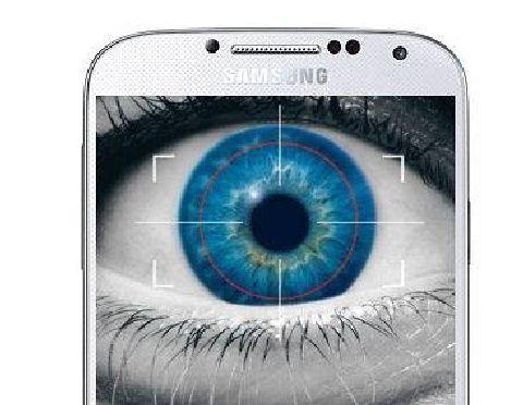 galaxy s5 lecteur iris