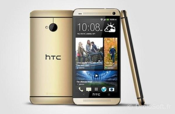 htc one dore gold