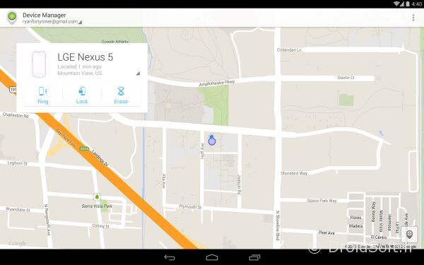 localiser mon android