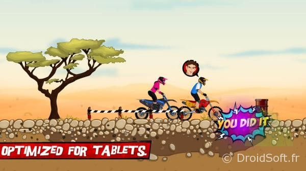 motocross challenge android jeu