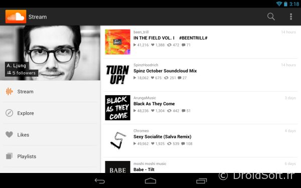 soundclound 2.72 android