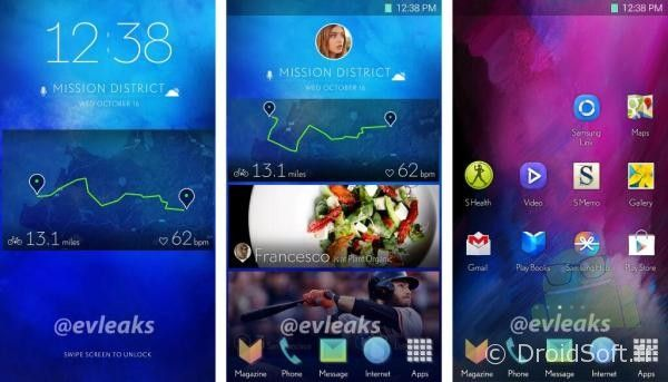 Android-Samsung-nouvelle interface TouchWiz Galaxy S5