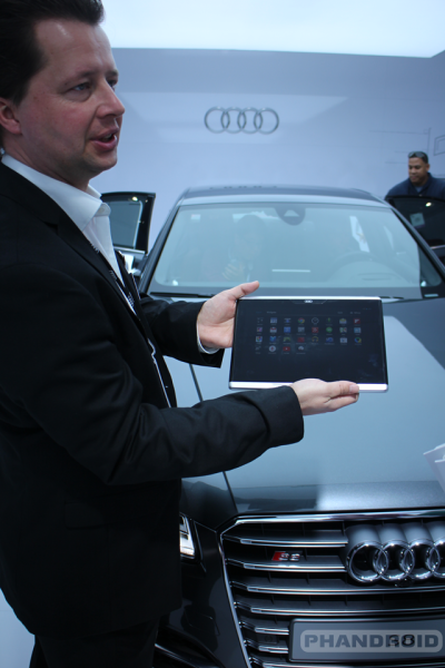 Audi-Android-Tablet mobile