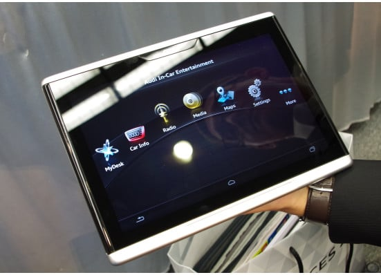 Mobile Audi Smart Display tablette android