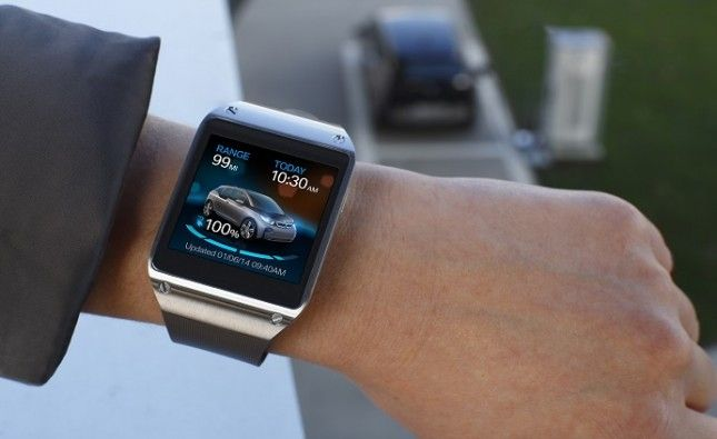 Samsung Galaxy Gear bmw
