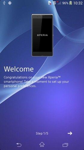 Sony Xperia Z2 Sirius os