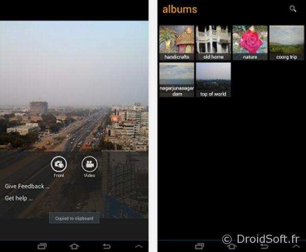 aiCam Camera app gratuite android