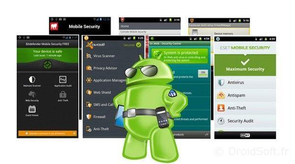 antivirus meilleurs android apk gratuits