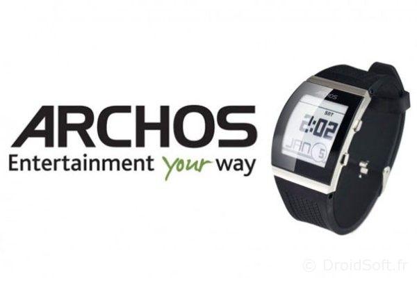 archos smartwatch pas cher