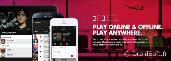 beats music streaming service lancement 21 janvier