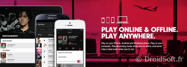 beats music streaming service lancement 21 janvier