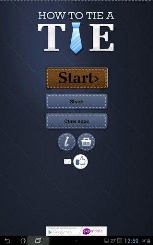 comment nouer sa cravate app android gratuite