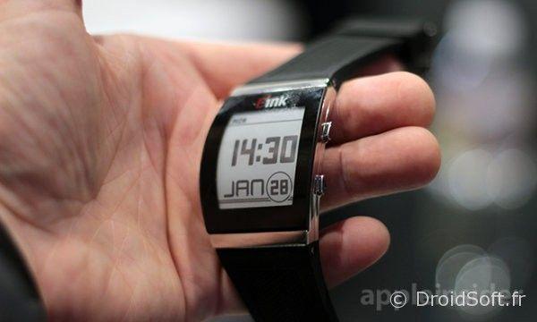e ink archos smartwatch