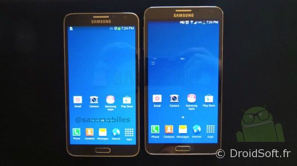 galaxy note 3 lite et galaxy note 3 face