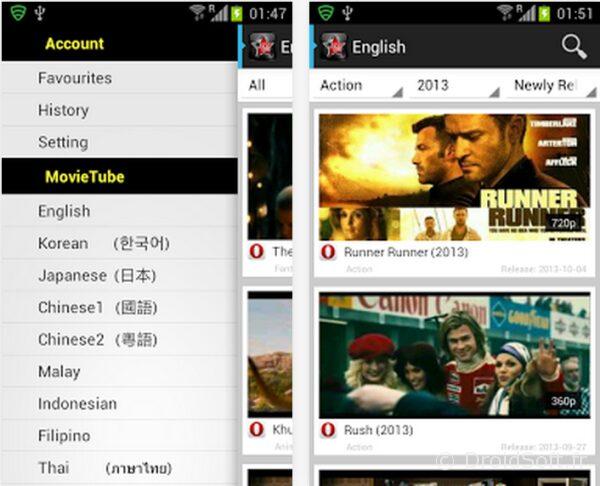 movie tube 4 android apk youtube gratuit