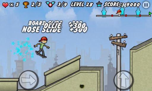 skater boy android jeu gratis