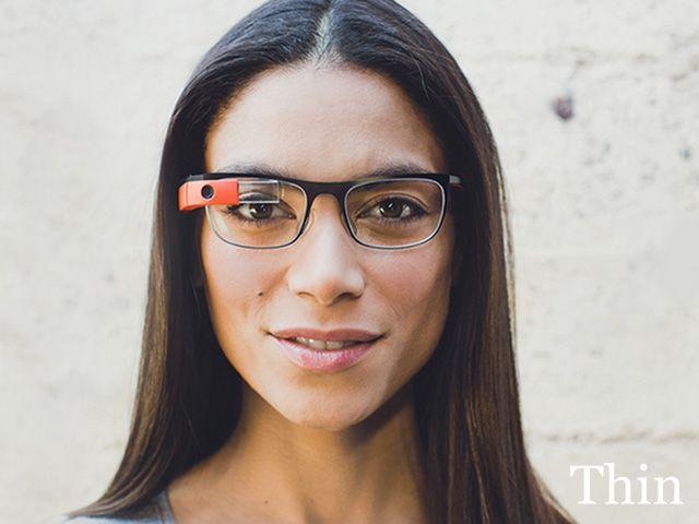 thin google glass