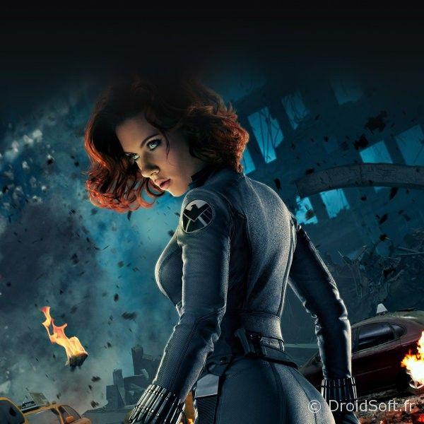 Black Widow Avengers wallpaper android fond ecran