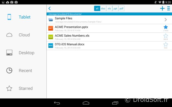 docs to go android app