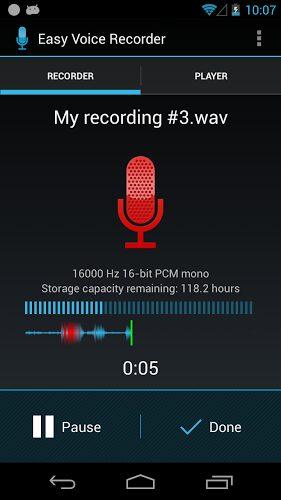 easy recorder voice apk