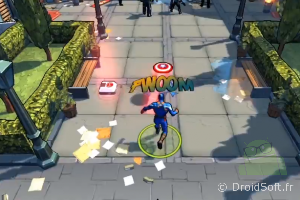 marvel captain america gameloft