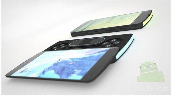 nexus p3 concept clavier manette 2