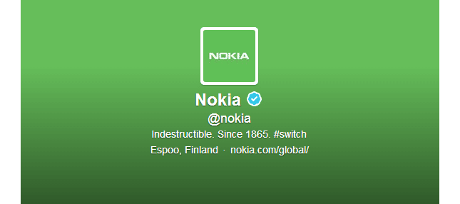 nokia twitter android