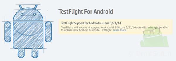 testflight arrete android