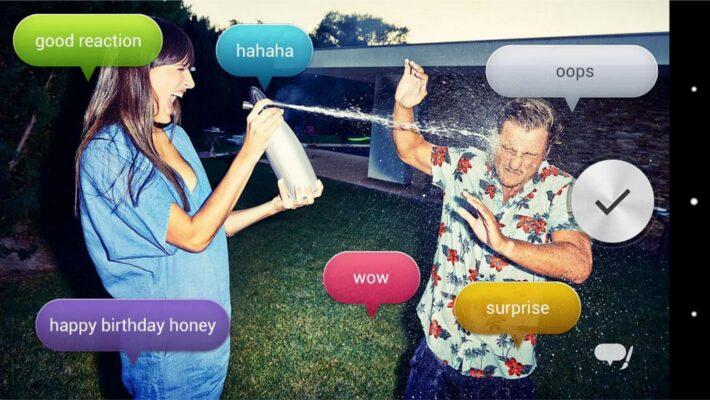 Voice Balloon Photo