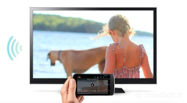chromecast android france pas cher