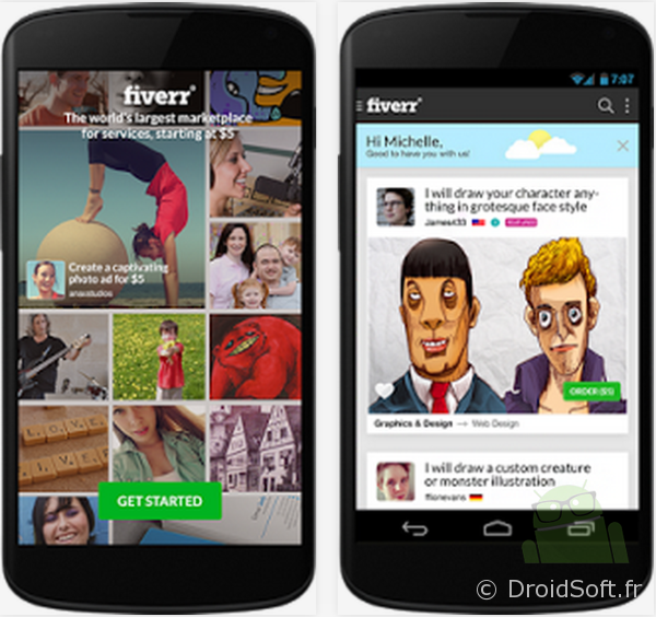 fiverr android apk