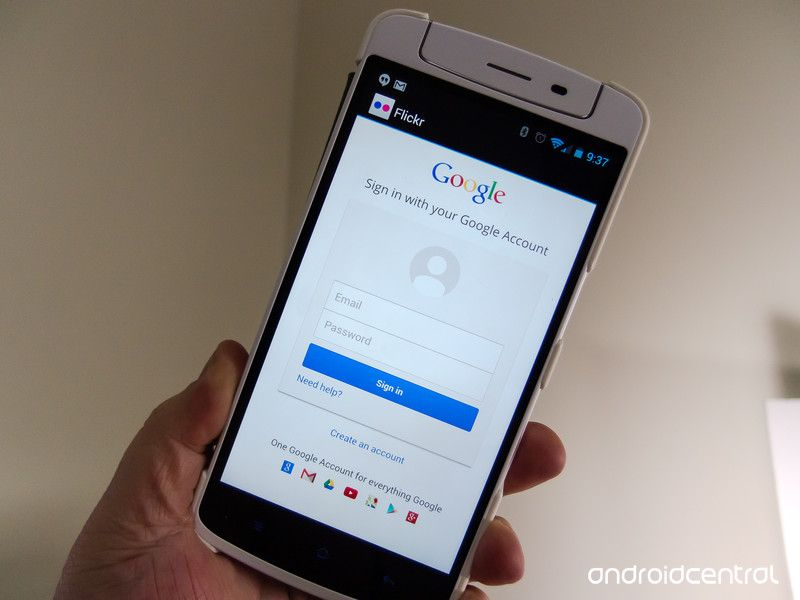 flickr android