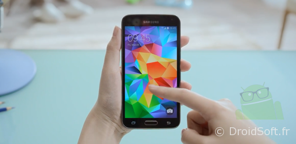 galaxy s5 prise en main test