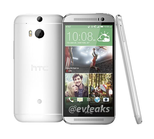htc one all new photo officiel gris