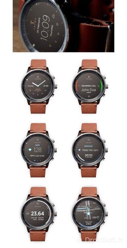 montre intelligente iwatch concept classique