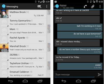 sliding sms app apk