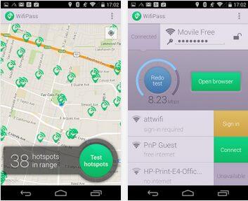 wifipass apk app gratuite
