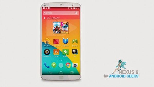 Nexus 6 concept LG G3
