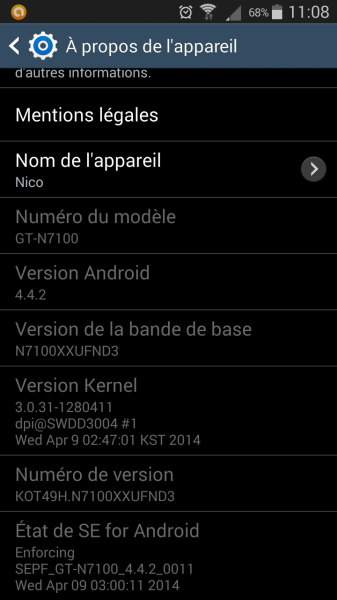android 4.4.2 galaxy note 2