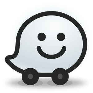logo  Waze Social GPS Maps & Traffic