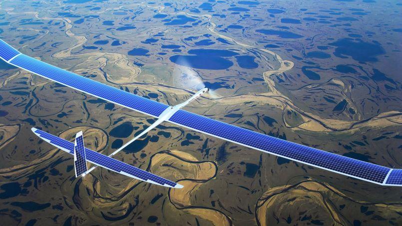 drone solaire google