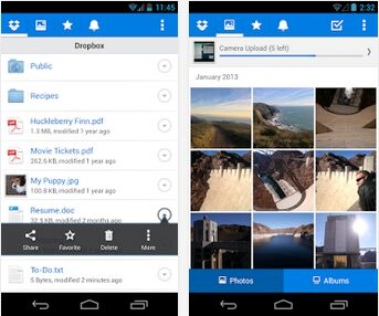 dropbox apk android
