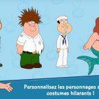 family guy, Test de Family Guy sur Android