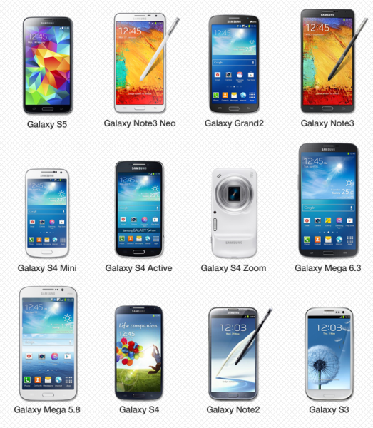 galaxy gear compatible smartphones tablettes samsung