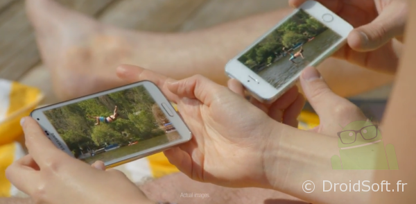 galaxy s5 iphone 5S