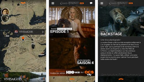 game of thrones saison 4 android gratuite