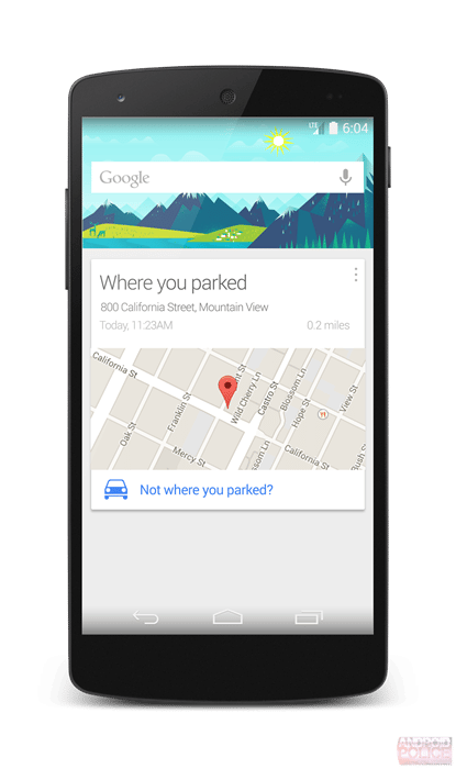 google now parking