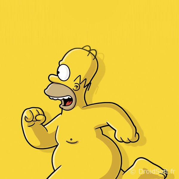 homer a poil wallpaper android hd gratuit