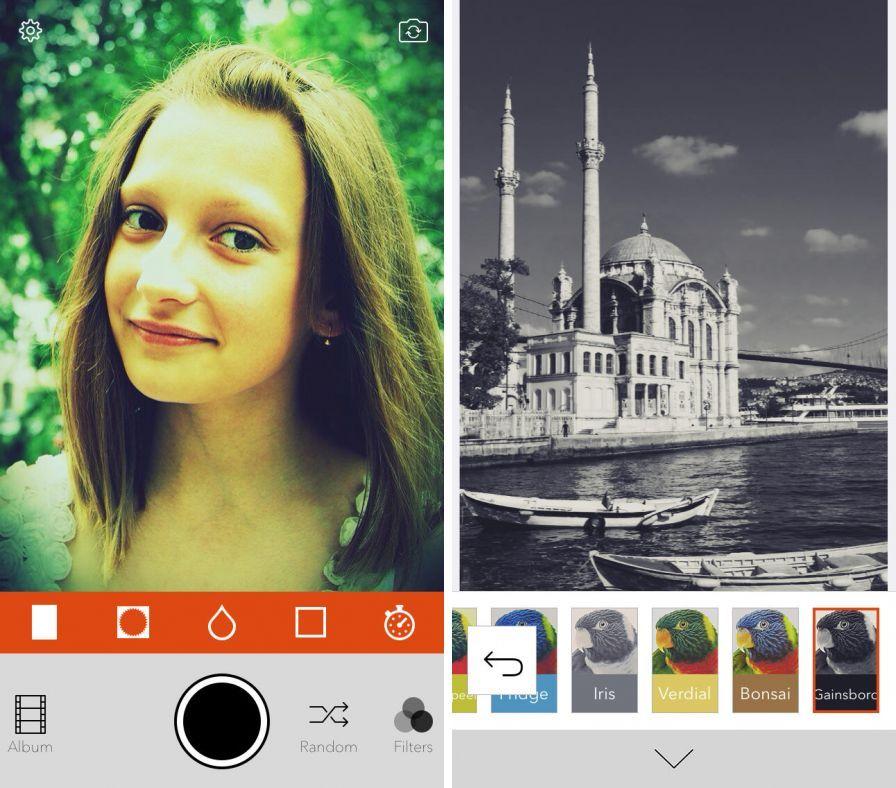 com retrica retrica app gratuite sur android pour retoucher vos photos
